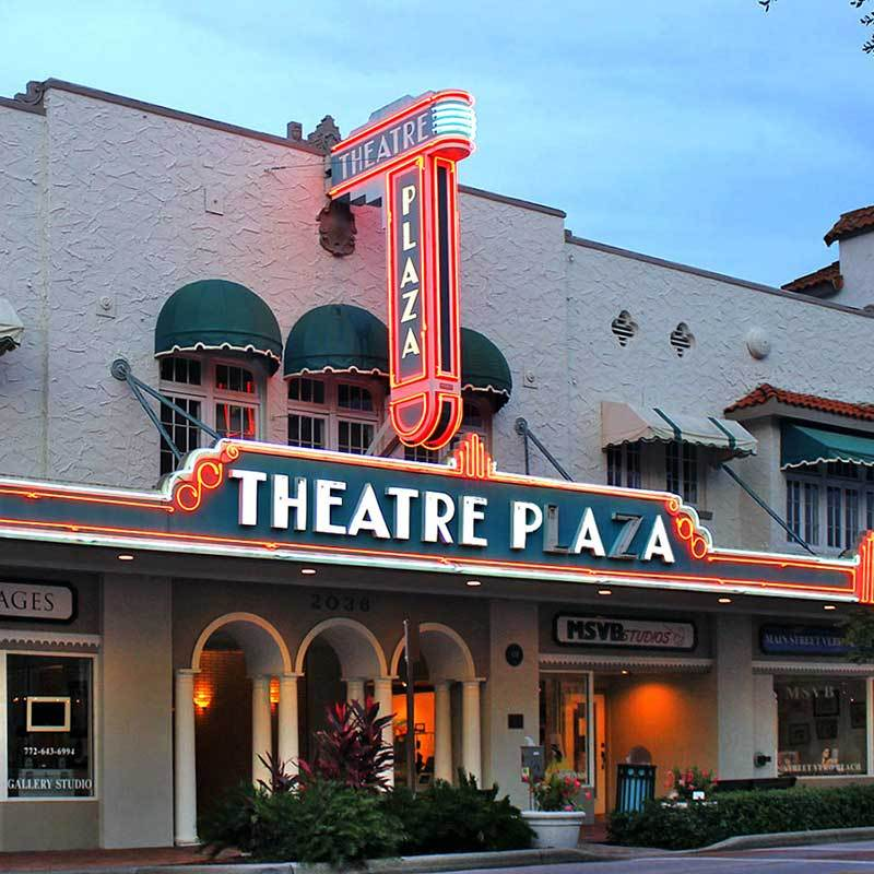 Theatre Plaza Downtown Vero Beach 800